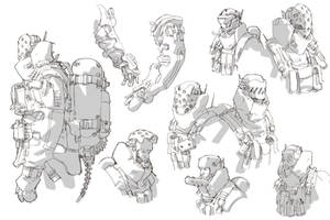 ao2 40th day: FB rough details by ClementSauve