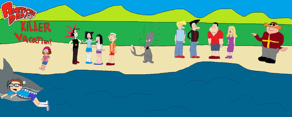American Dad Killer Vacation By HexagonDieselBarts On