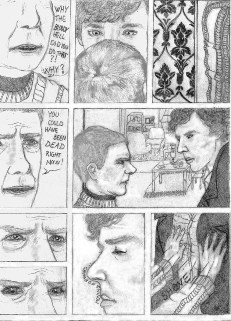 In the Doorway Johnlock page 1/3 by rockallday