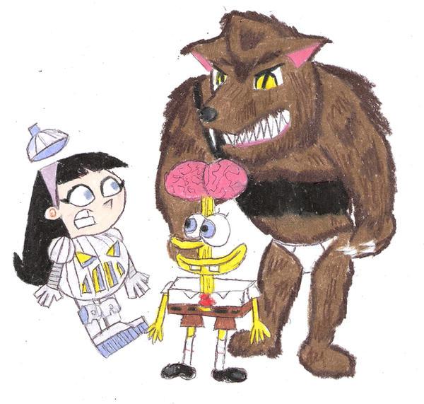Trixie and Spongebob Halloween by Ultrasponge on DeviantArt