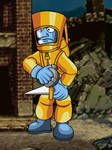 Metal Slug 4 - Hazmat Soldier by Ultrasponge