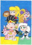 Cartoon Heroines