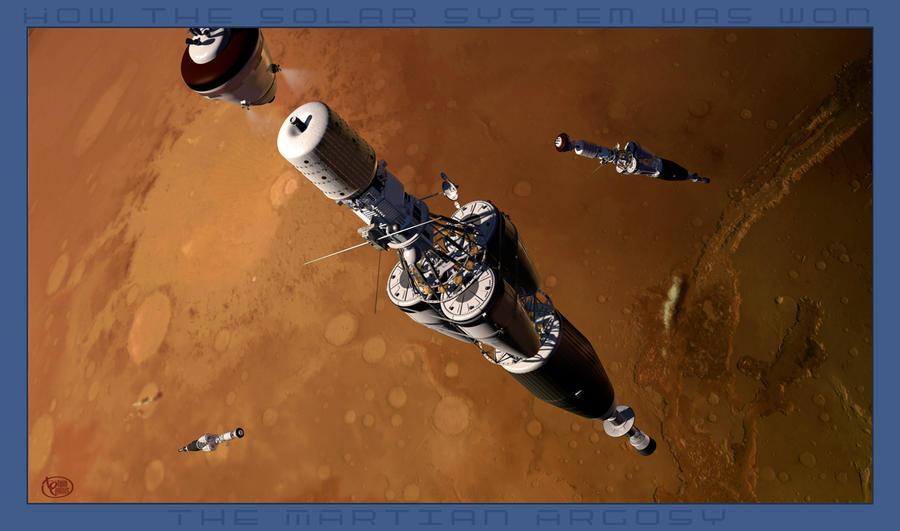 A Martian Argosy by Drell-7