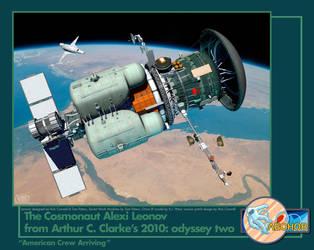 Leonov: American crew Arriving by Drell-7