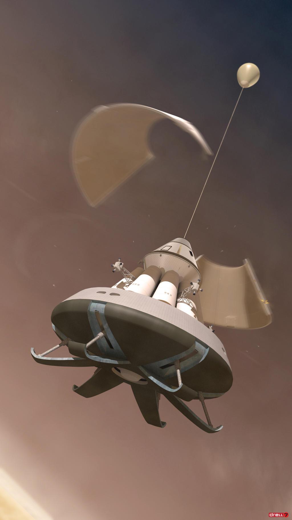 Argosy-MEM Ballute Deployment by Drell-7