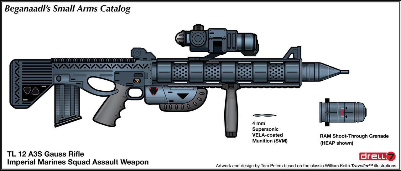 Gauss Rifle Concept