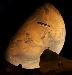 Mars from Phobos