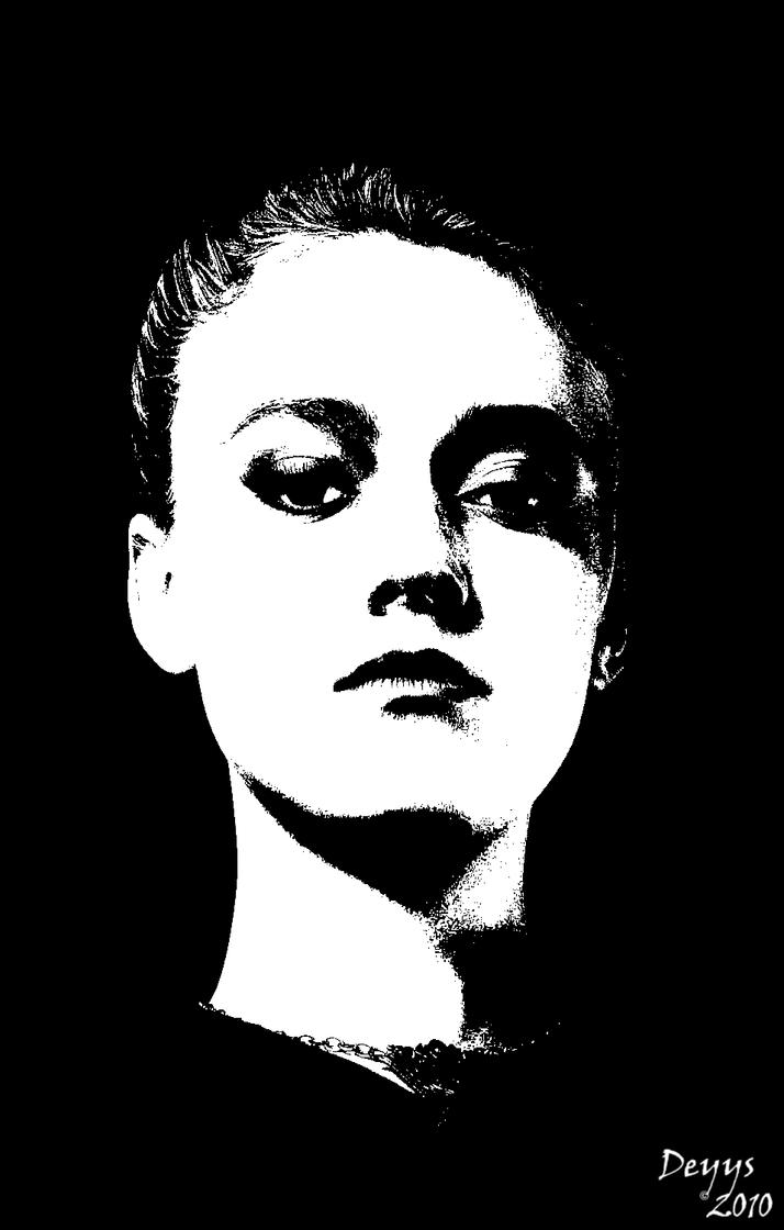 Dakota Fanning by Deyys