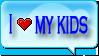 I love my kids by Deyys