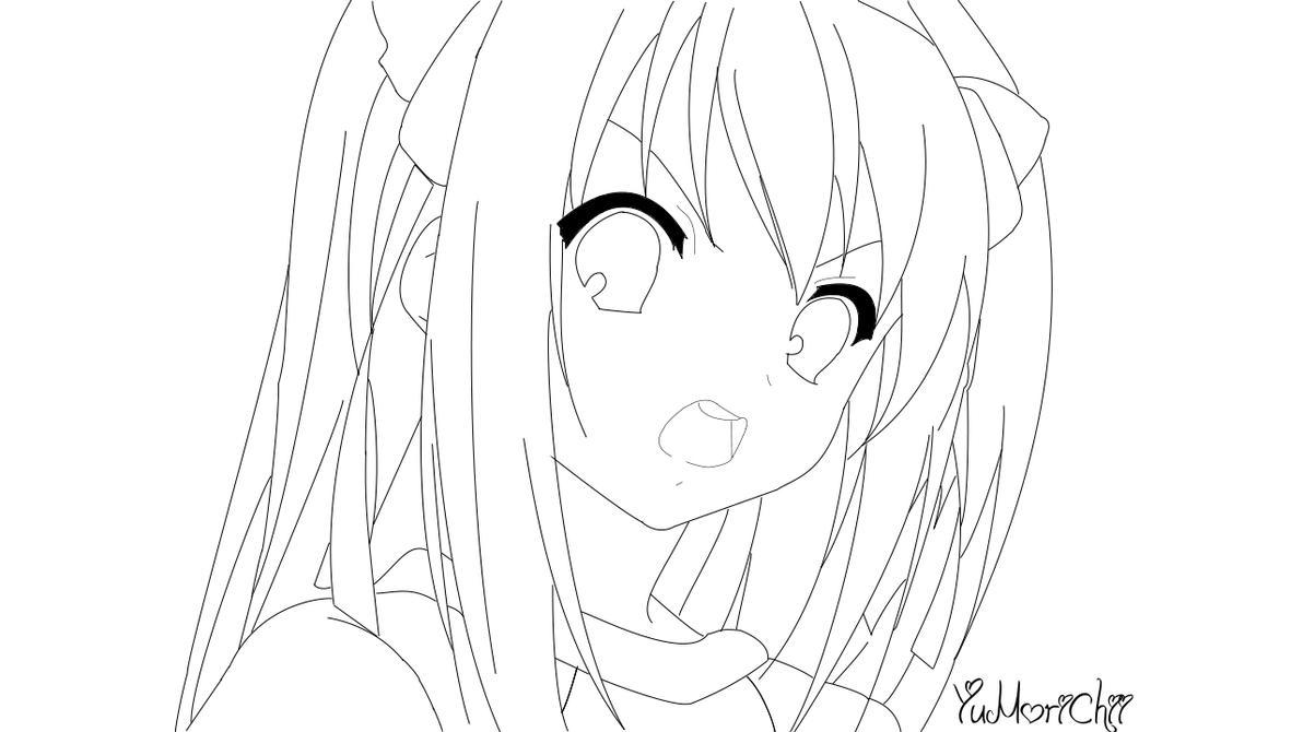 Line Art Grade 2 : Line art th grade haruhi by yumorichii on deviantart