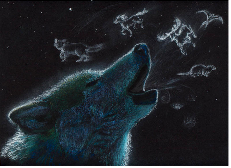 spirit animals wallpaper wolf - photo #6