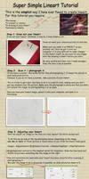 Simple Pencil Lineart Tutorial