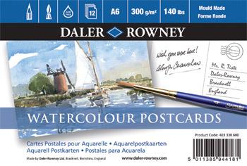Daler Rowney Postcard by heylorlass