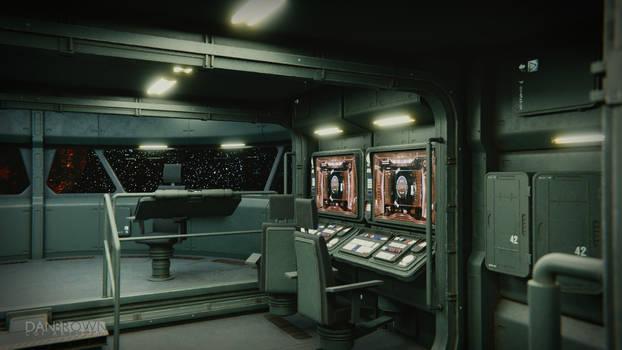 Small Starship Command Deck 1