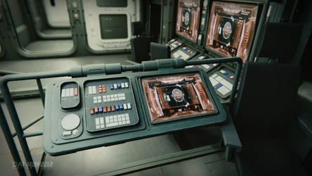 Small Starship Command Deck 4