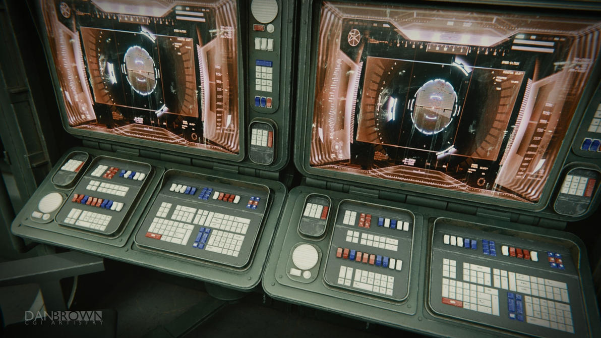 Small Starship Command Deck 5 by DanBrownCGI