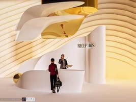 Modern Luxury Hotel Loby