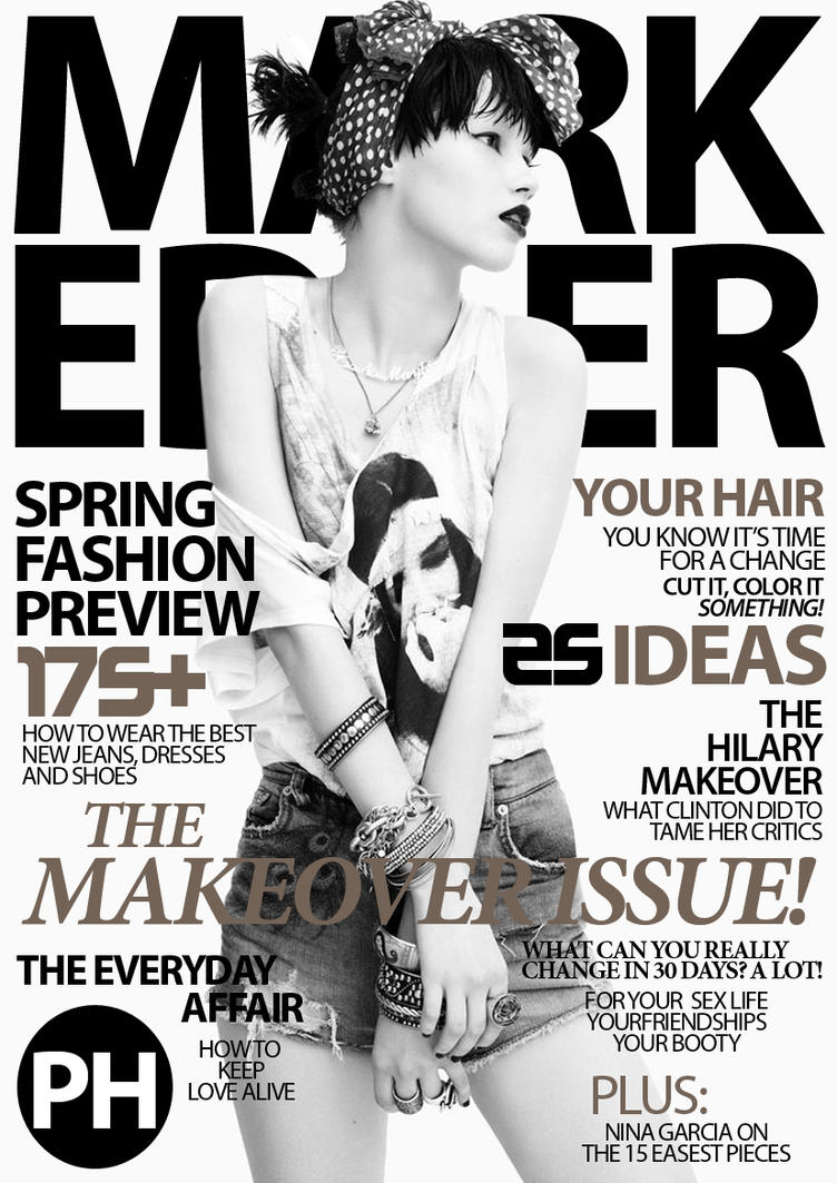 Mark Edver Magazine Cover - 13 by MarkEdverPH