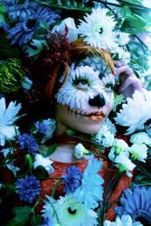 Dia de los Muertos Make-up by KelzJoannides