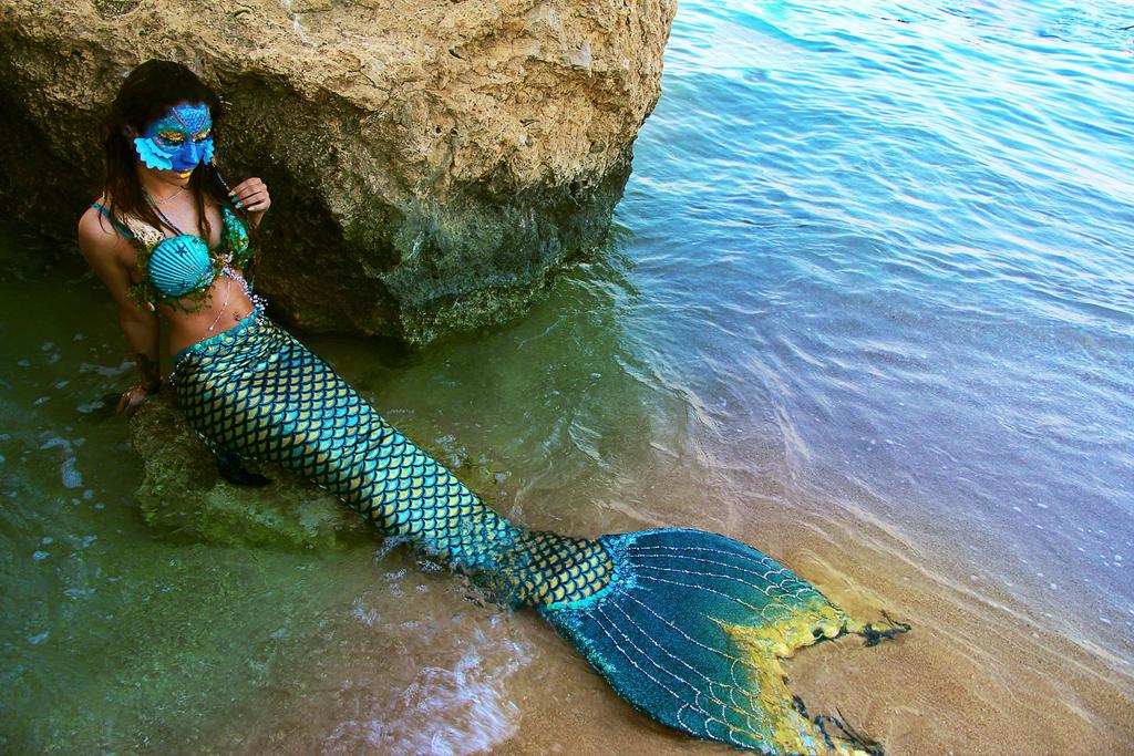 Mythical Mermaid by KelzJoannides