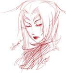 Free Sketch viii - Ultimecia