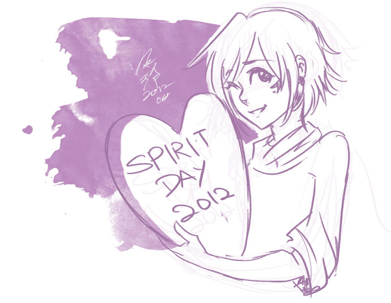 Spirit Day 2012 by SchizoCheese