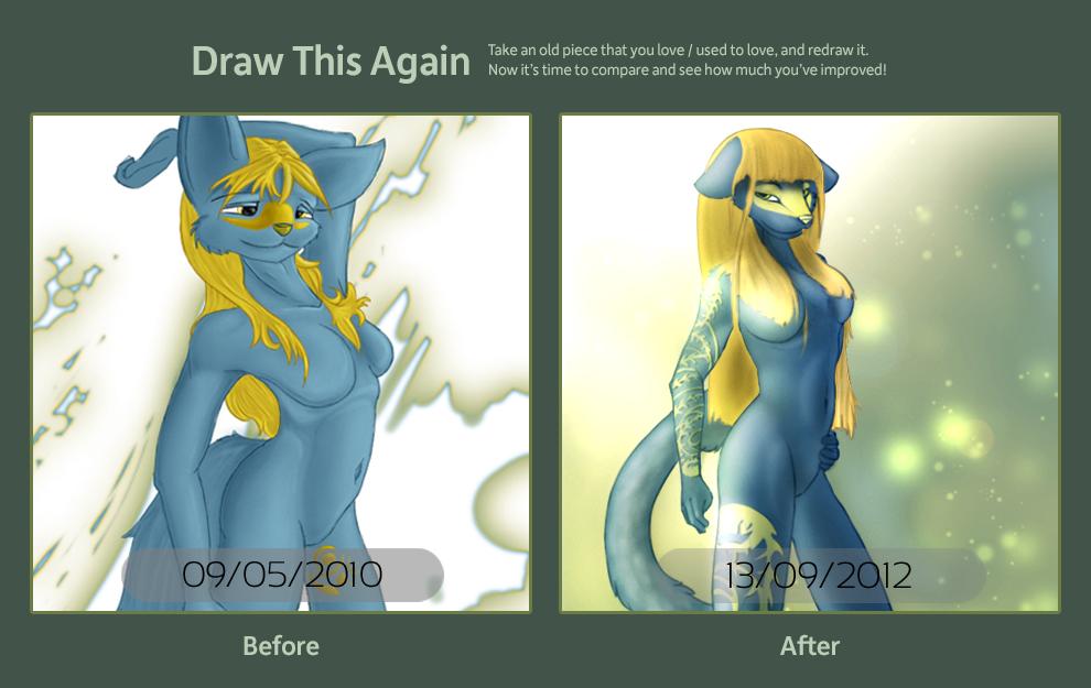 Contest: Draw This Again Challenge 2012 by Denizen-v1