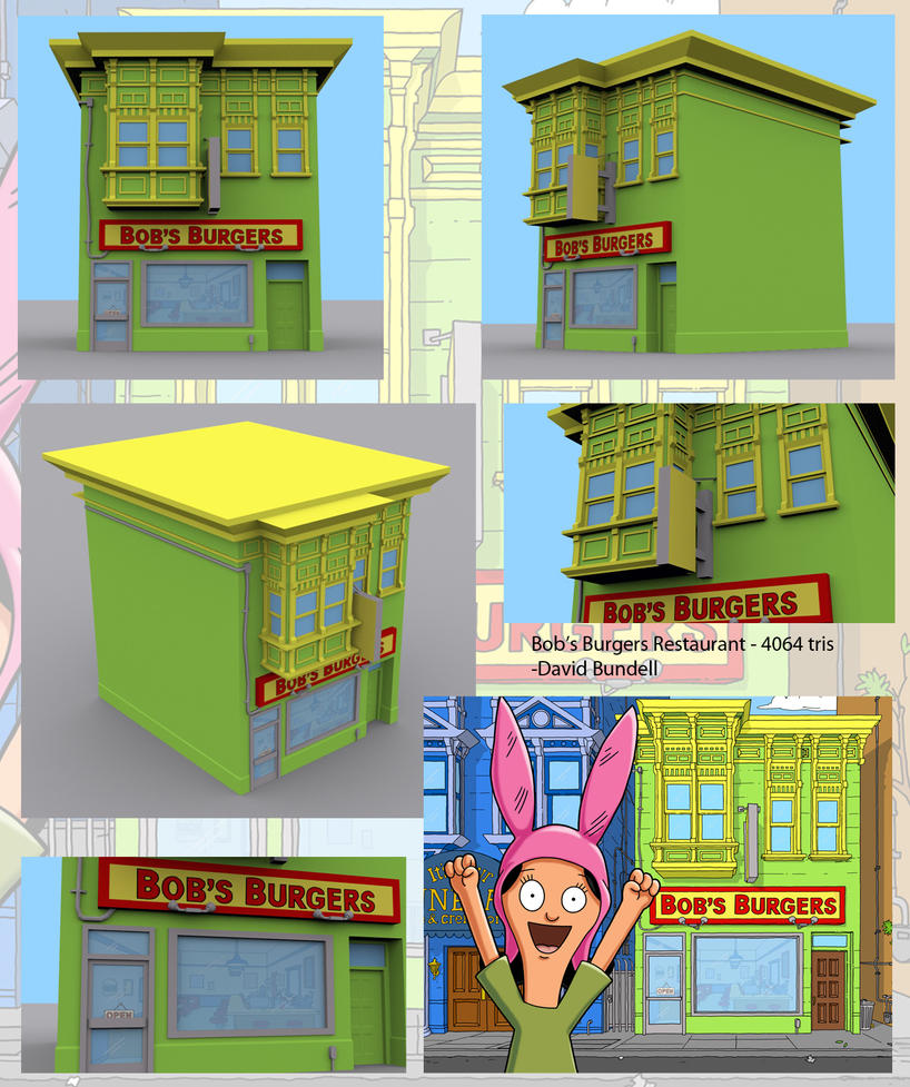 Welcome To Bobs Burgers By Rsdoidle On Deviantart