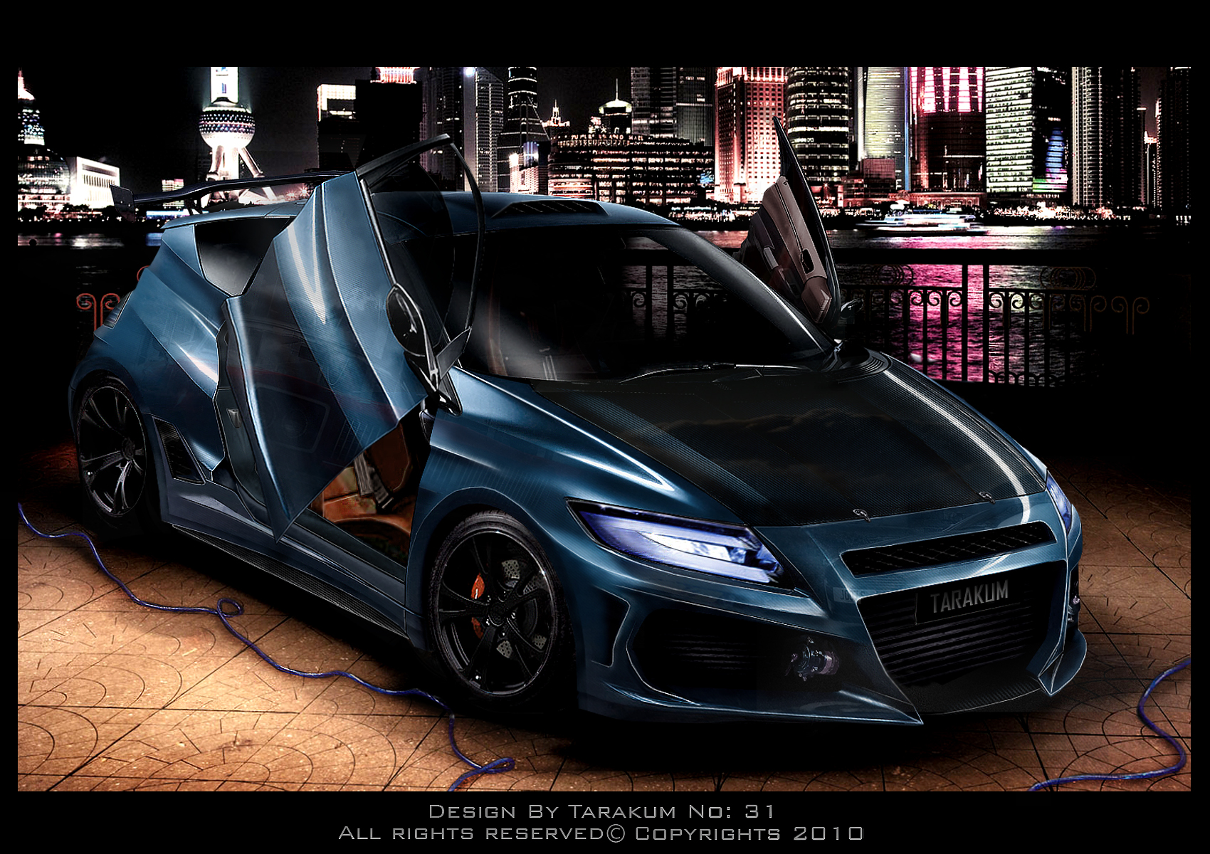 honda cr z virtual tuning by tarakum on deviantart. Black Bedroom Furniture Sets. Home Design Ideas
