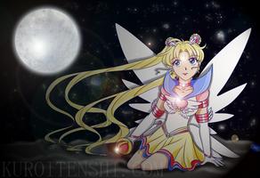 Eternal Moon Poster by kuroitenshi13
