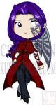 Commission Chibi Cyborg Girl