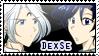 Stamp Demando x Seiya by kuroitenshi13