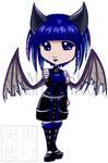 Commission Chibi Bat Girl