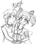 Ellios and Chiusa Sketch