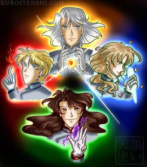 Shitenou Magic Contest Fin