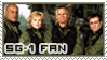 SG-1 Fan STAMP by kuroitenshi13