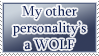 Other Personality is a Wolf STAMP by kuroitenshi13