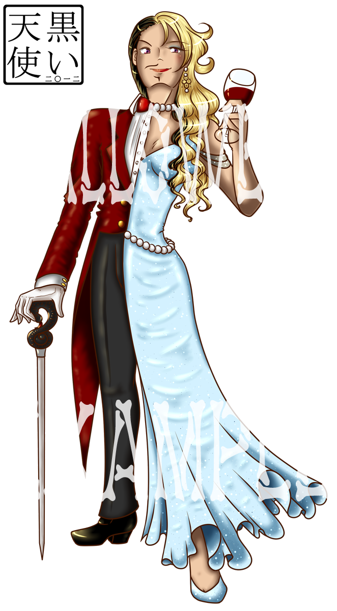 Halloween Reg Size Example by kuroitenshi13
