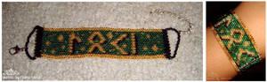 SOLD Loki in Germanic Futhark SOLD