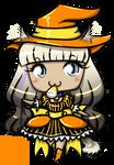 Halloween Chibi Commission Embers