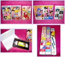 Sailormoon R VHS and Bootleg