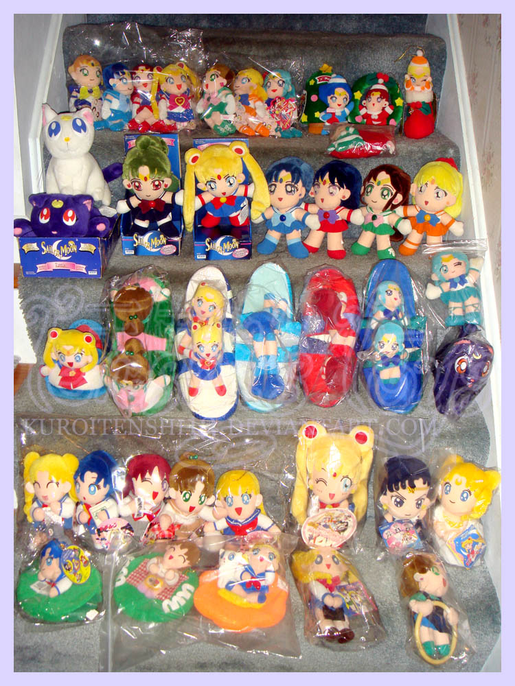 Sailormoon Plush Collection July 2013 by kuroitenshi13