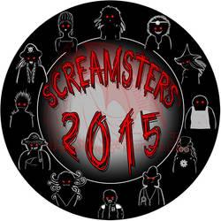 2015 Screamster Logo Contest by kuroitenshi13
