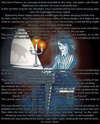 Sara Pianno with Backstory by kuroitenshi13