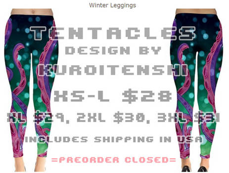 Tentacles Winter Legging Design
