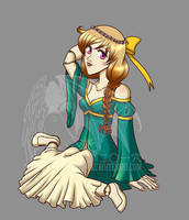 BJD Female Outfit 02 by kuroitenshi13
