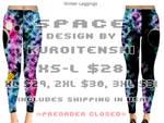 Space Winter Legging Design