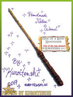 SOLD Wand of the Fire Cracker by kuroitenshi13