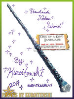 SOLD Wand of White Balance by kuroitenshi13