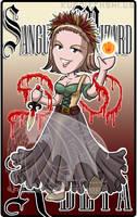 Commission Badge Sanguine Wizard Adeya by kuroitenshi13